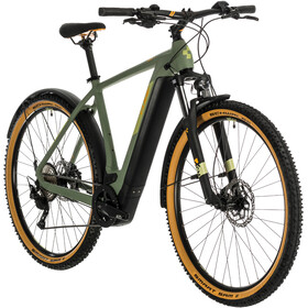 Cube Cross Hybrid Pro 500 Allroad green/orange